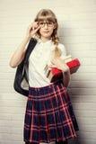 Vá à escola imagens de stock royalty free