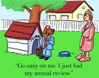 Vá fácil em mim. Eu apenas tive minha revisão anual Imagens de Stock Royalty Free