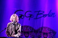 Vá vão desempenho vivo de Berlim (faixa) no festival de Bime Imagem de Stock