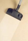 Vácuo que limpa o tapete novo Imagens de Stock
