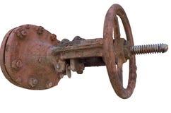 Válvula aherrumbrada Imagen de archivo libre de regalías