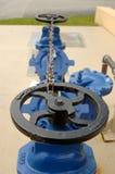 Válvula azul Imagem de Stock Royalty Free