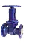 Válvula compacta moderna para aumentar la seguridad del transporte del gas Foto de archivo libre de regalías