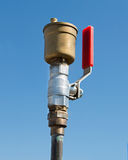 Válvula da água Fotografia de Stock
