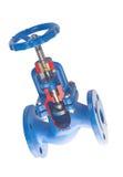 Válvula da flange da água do aquecimento Imagens de Stock Royalty Free