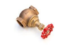 Válvula da tubulação Fotos de Stock