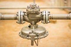 Válvula de control de presión para la industria Foto de archivo