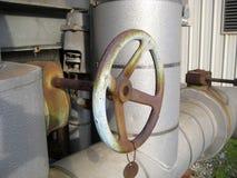 Válvula de controle do volume de água fotografia de stock royalty free