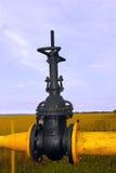 Válvula de gas Fotografía de archivo