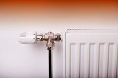 Válvula de la calefacción Foto de archivo