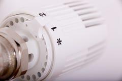 Válvula de la calefacción Fotos de archivo libres de regalías
