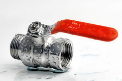Válvula de la plomería Imagen de archivo