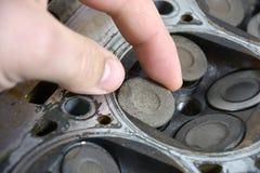 Válvula de motor Foto de Stock Royalty Free