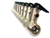 Válvula de pressão Foto de Stock