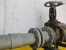 Válvula de puerta de agua Fotografía de archivo