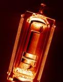 Válvula de radio vieja. Imagen de archivo