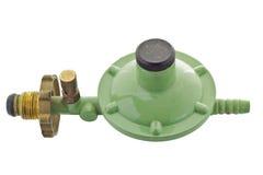 Válvula de segurança do gás foto de stock