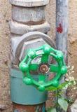 Válvula del abastecimiento de agua Fotos de archivo