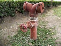 Válvula del abastecimiento de agua Fotografía de archivo libre de regalías