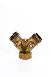 Válvula del manguito de jardín Fotografía de archivo