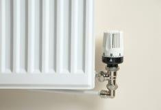Válvula del radiador Fotos de archivo libres de regalías