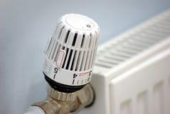 Válvula del radiador Imagen de archivo libre de regalías