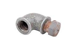 Válvula del tubo de agua Imagen de archivo libre de regalías