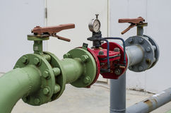 Válvula do regulador da água de Colorfull Imagem de Stock Royalty Free