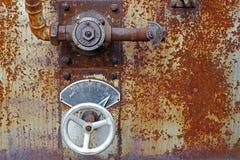 Válvula do regulamento do vapor imagens de stock