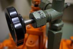 Válvula hidráulica do ajuste fotos de stock