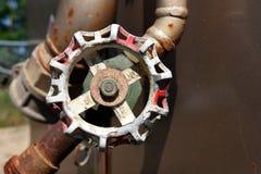 Válvula industrial Fotografia de Stock Royalty Free