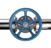 Válvula industrial da tubulação Imagem de Stock