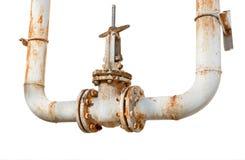 Válvula oxidada Foto de Stock Royalty Free