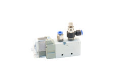 Válvula pneumática Imagem de Stock
