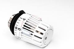 Válvula termostática do radiador - custos de aquecimento Imagem de Stock Royalty Free