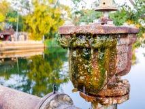 Válvulas de aire del doble del abastecimiento de agua Fotografía de archivo libre de regalías