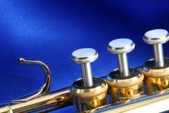 Válvulas de la trompeta Imagen de archivo