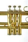 Válvulas de la trompeta Foto de archivo