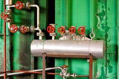 Válvulas de pressão fotografia de stock