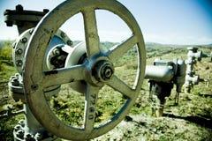 Válvulas e bombas do encanamento Imagem de Stock Royalty Free