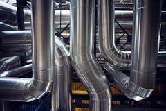 Válvulas e tubos abstratos Imagem de Stock