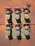 Válvulas oxidadas 1 foto de stock royalty free