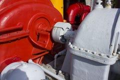 Válvulas y tubería 2 Imagen de archivo libre de regalías