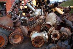 Válvulas y tubos Foto de archivo libre de regalías