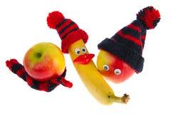 Vária fruta do inverno Imagens de Stock