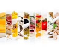 Vária mistura do alimento Imagens de Stock