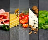 Vária mistura do alimento Imagens de Stock Royalty Free