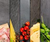 Vária mistura do alimento Foto de Stock