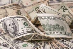 Várias cédulas do dólar Fotografia de Stock Royalty Free