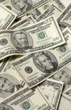 Várias contas dos EUA imagem de stock royalty free
